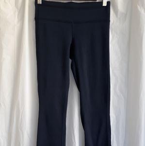 Athleta fleece lined yoga pants. Navy. Sz XSP.